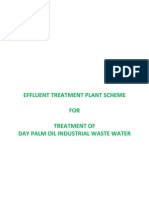 Palm Oil Effluent Treatment Scheme