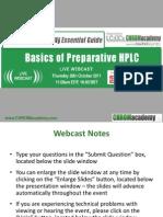 HPLC Prep