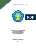 SISD (Single Instruction SIngle Data)
