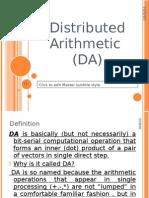 DistributedArithmetic-OmarAhmed