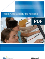 MS Web Accessibility Handbook 03-09 Acc