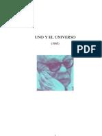 Uno y El Universo Ernesto Sabato