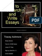 Research & Essay Writing 2011