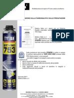 Attestazione Assicurazione STYRO753