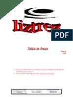 Tabela Liztrez Jan 2009