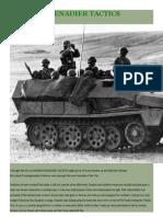 Panzergrenadier Tactics