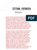 Manifesto Citta Futurista s'Elia