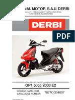 Derbi Gp1 50 Parts List