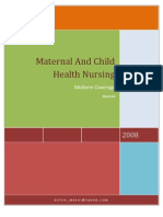 6003735 Maternal and Child Health Nursing