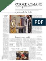 Osservatore Romano 2011ottobre17