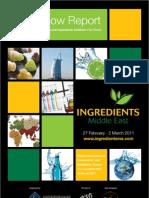 Ingredients Post Show Report 2011