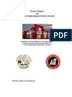 project on consumer behavior of mcdonalds Full-text paper (pdf): consumer behavior and the growth of the fast food industry in a small emerging country.