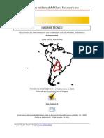 Monitoreo del Cambio de Uso de la Tierra en El Gran Chaco Octubre 2011