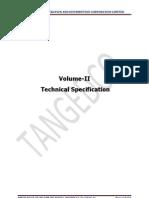 Tangedco Dcdr Spec Vol II Tech
