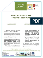 GRUPOS COOPERATIVOS Y POLÍTICA ECONÓMICA - CO-OPERATIVE GROUPS AND ECONOMIC POLICY (Spanish) - KOOPERATIBEN TALDEAK ETA POLITIKA EKONOMIKOA (Espainieraz)