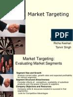 Market Targeting Final Richa Eashani Tanvir
