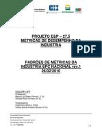 Eap 275 Padroes de Metricas Da Industria Nacional