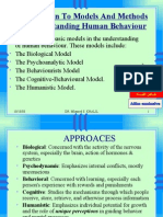 Introduction Models and Methods of Understanding Human2