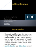 Uses and Gratification-Presentation