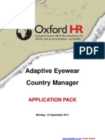 Application Pack Adaptive Eyewear 110912