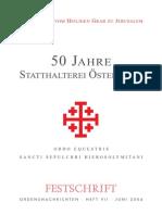 Ordensnachrichten VII - Festschrift 2004