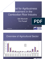091015 KH Rice Sector Investment Potential