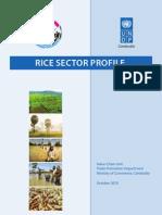 x01010 MOC KH Rice Sector Profile