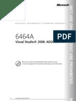 6464ak en Vs2008 Ado.net3.5 Trainer Manual