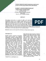 Pengaruh CSR Thdp ERC