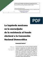 Bartra Armando. La Izquierda Mexicana