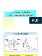 CI Engine Combustion