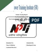 NPTI (SR) Scheme Tracing Report TSII