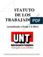 ESTATUTO TRABAJADORES - UNT