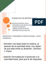 Consultas en Materia Fiscal