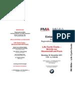 Einladung von MFA-Kooperationspartner FMA!