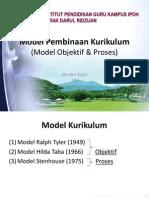 Tajuk 11 Model Pembinaan Kurikulum