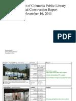 Document #9C.1 - Capital Construction Report