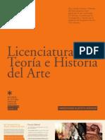 LICENCIATURA EN TEORIA E HISTORIA DEL ARTE 2012 - UAH