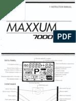 Manuals Minolta Minolta Maxxum 7000i Manual
