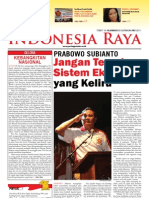Tabloid Gema Indonesia Raya (Mei 2011)