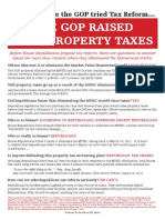 The Last Time the GOP Tried Tax Reform, the GOP Raised Your Property Taxes