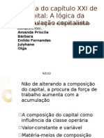 A ótica do capítulo XXI de O Capital