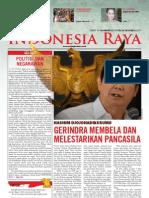 Tabloid Gema Indonesia Raya (Oktober 2011)