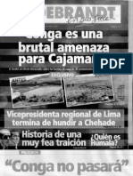 Conga Es Una Brutal Amenaza Para Cajamarca -Hildebrandt 11.11.2011