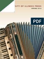 University of Illinois Press Spring 2012 catalog