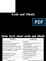 7E Acids and Alkalis