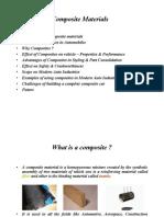 Composite Materials Mr.S.srinivasan