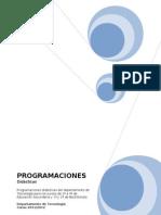 Programaciones Dpto Tecnologia 11-12