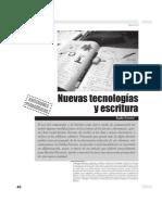 Nuevas Tecnologias y Escrituras Emilia Ferreiro