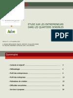 BJ6779 - Rapport -ADIVE-Nouvelle PME - Etude Sur Les Entrepreneurs Issus de ZUS - VF
